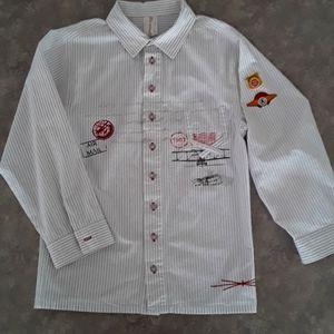 Deux par Deux shirt, size 10Y